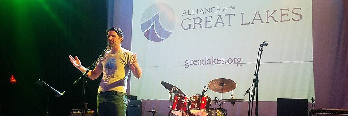 Alliance President & CEO Joel Brammeier addresses the crowd.